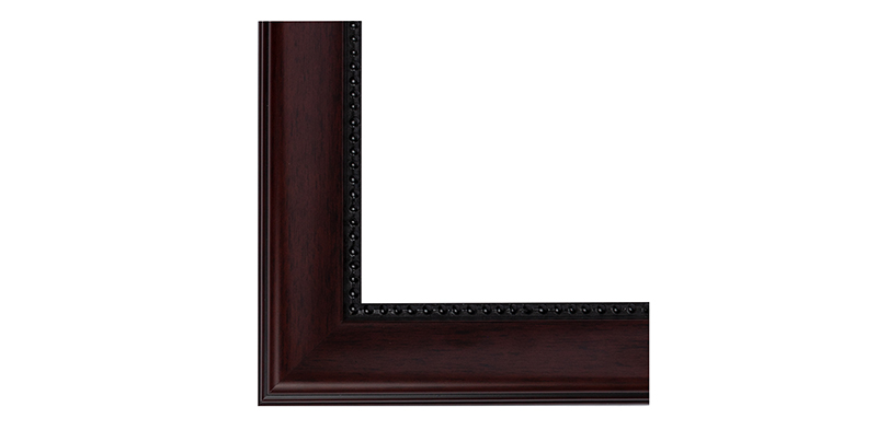 Frame Colour - Mahogany