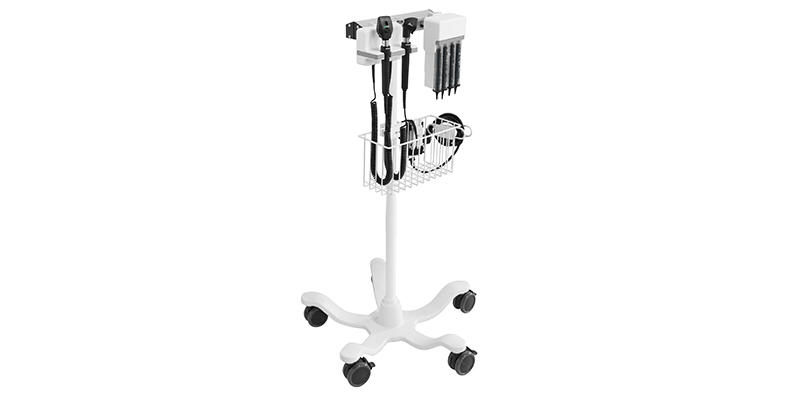 Rollstand Mounted Diagnostic Station