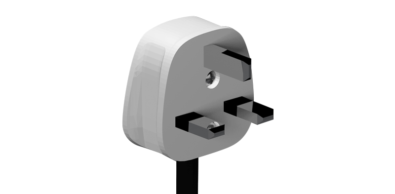 British Power Inlet  - Plug Type G