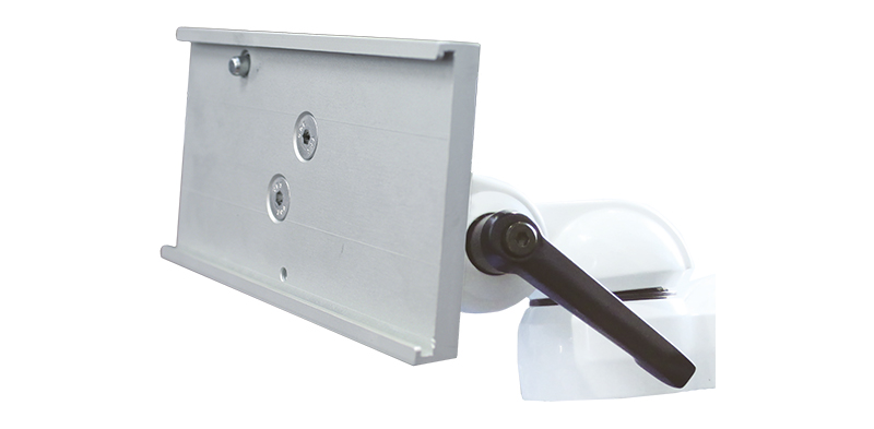 "3"" (7.6 cm) Shelf with 30° tilt limit"