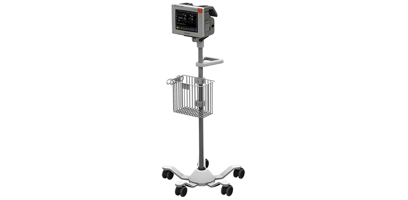 Philips IntelliVue MP5 on Roll Stand
