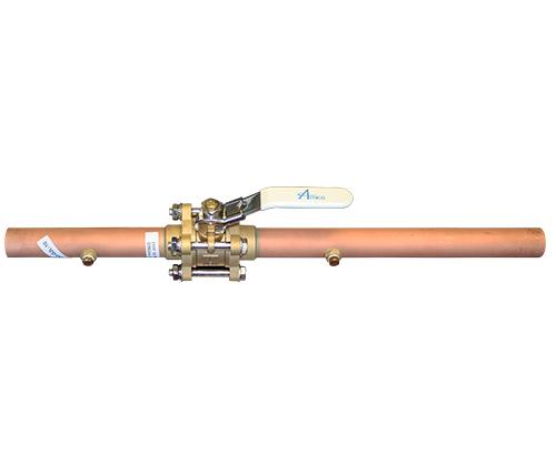 Main product image for Amico's Ball Valve with Extensions and Dual Purge Port