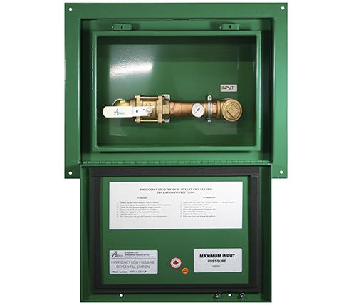 "Main product image for Amico's Emergency Oxygen Inlet Station 2"" (Recessed Low Pressure)"