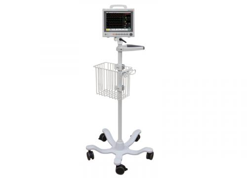 Roll Stand with Patient Monitor and Adapter Plate (RS5-420-PKG)
