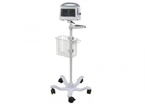Roll Stand Package with Welch Allyn Patient Monitor (RS6-420-PKG)